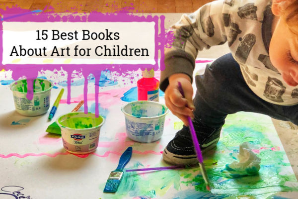 15 Best Books About Art for Children cover photo
